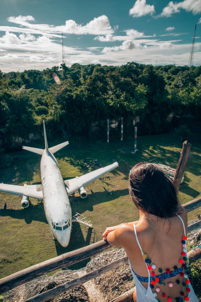 Abandoned Aircraft Nusa Dua