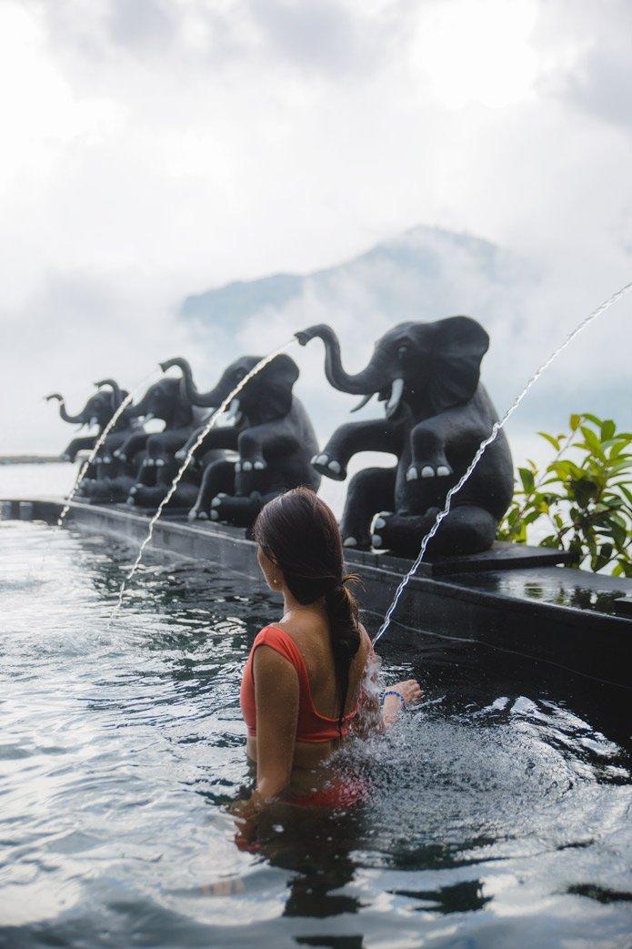 Toya Devasya Hot springs bali