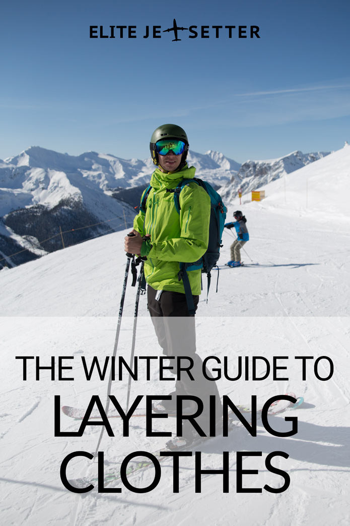 Winter guide to layering