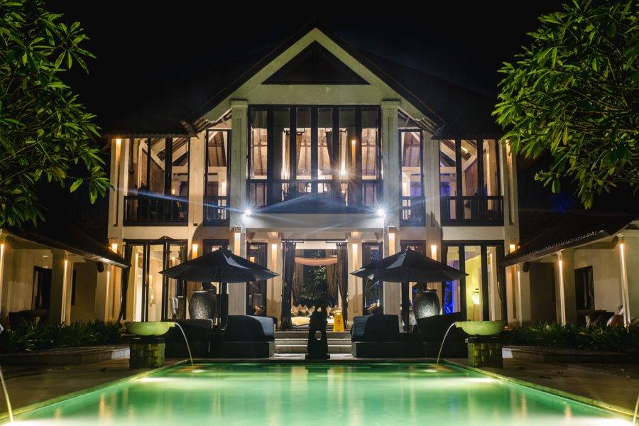 Ylang Ylang Villa bali night