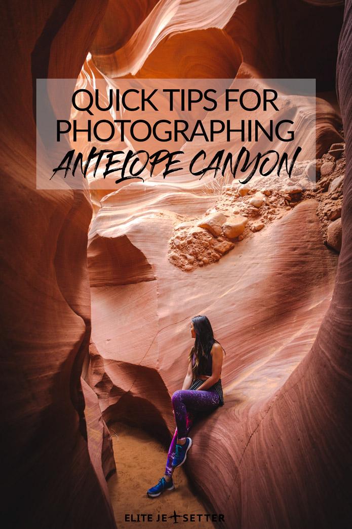 Antelope Canyon Photography Tips