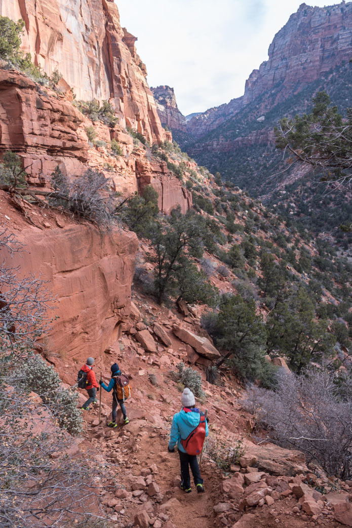 Subway hike zion
