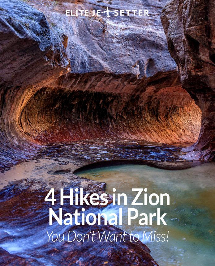 Zion subway hike