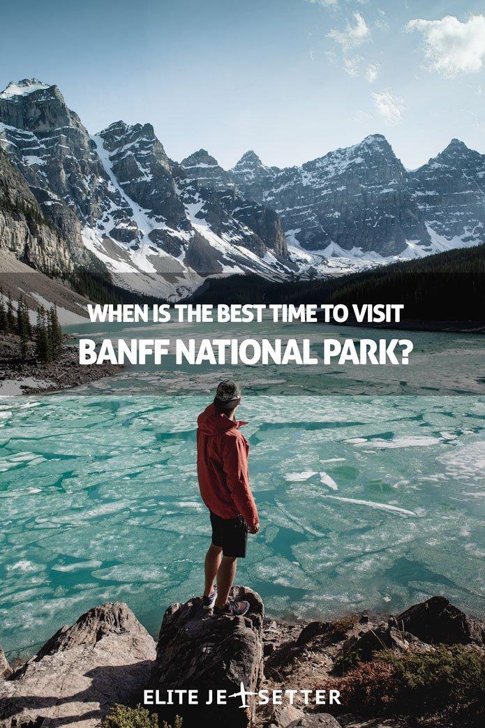 Best time to visit Banff pinterest