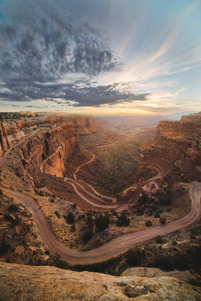 Shafer Trail overlook