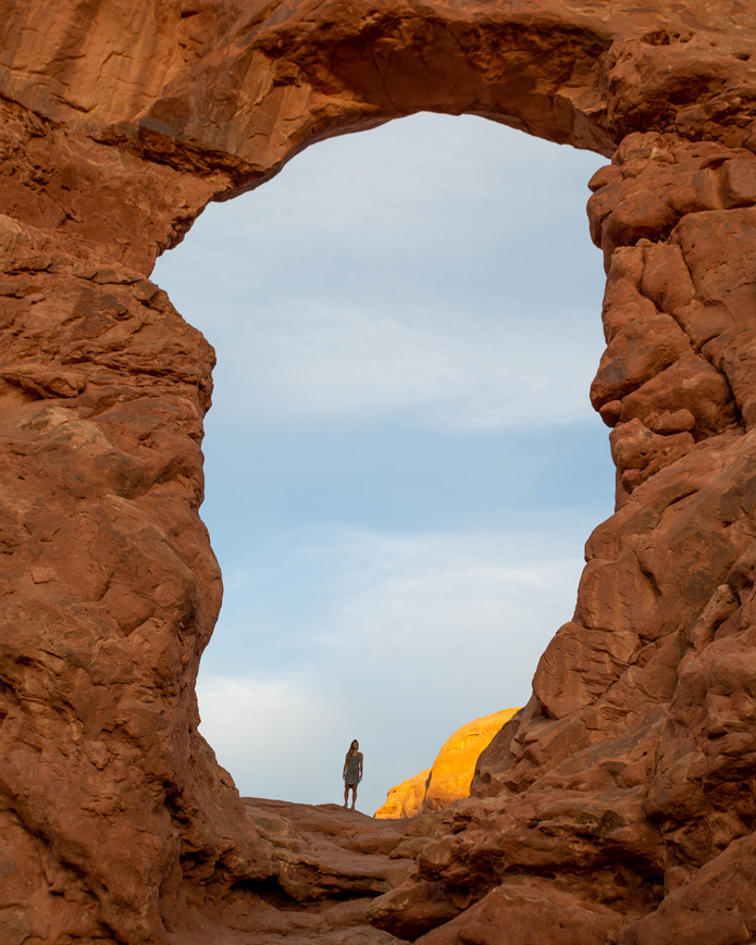 Turret Arch Arches National Park
