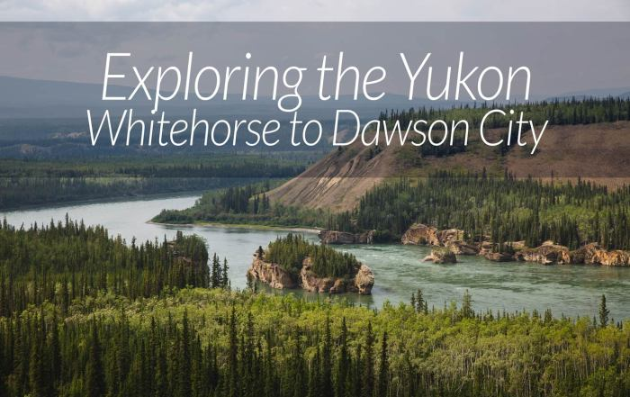 Whitehorse to Dawson City Yukon