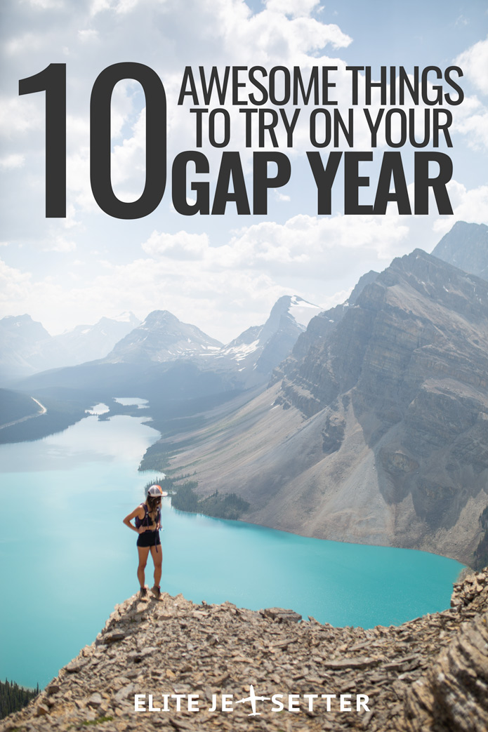 Gap Year things to do