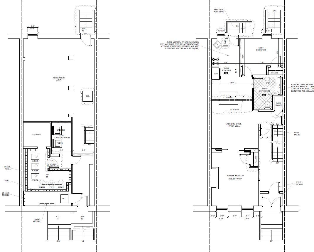 3 Bed 2 Bath Duplex  Private Backyard  Bushwick  Elite