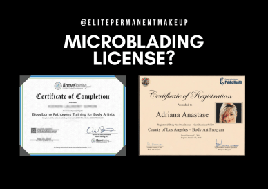 Microblading Licensing