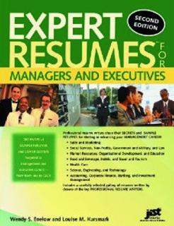 Wanda Kiser of Elite Resume Writing Services published resume samples