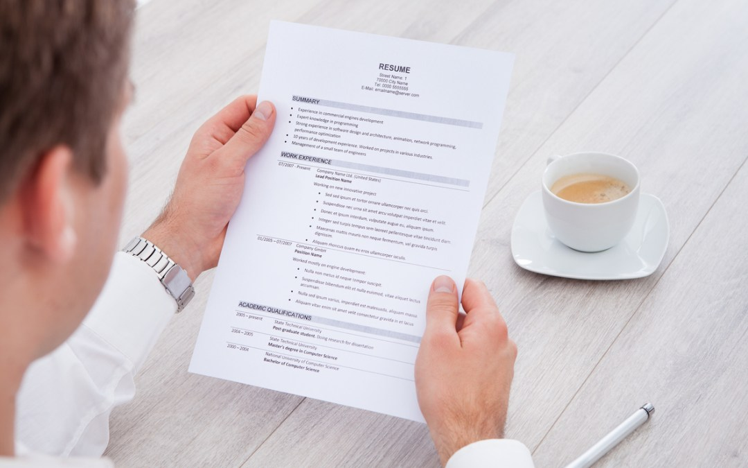 5 Reasons Why You Need a Professional Resume