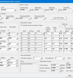 equipment cooling loads window [ 1023 x 827 Pixel ]
