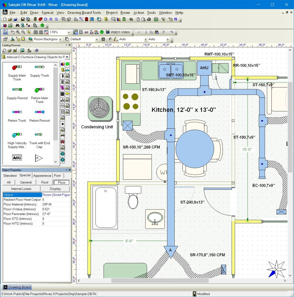 medium resolution of elite software rhvac hvac drawing program