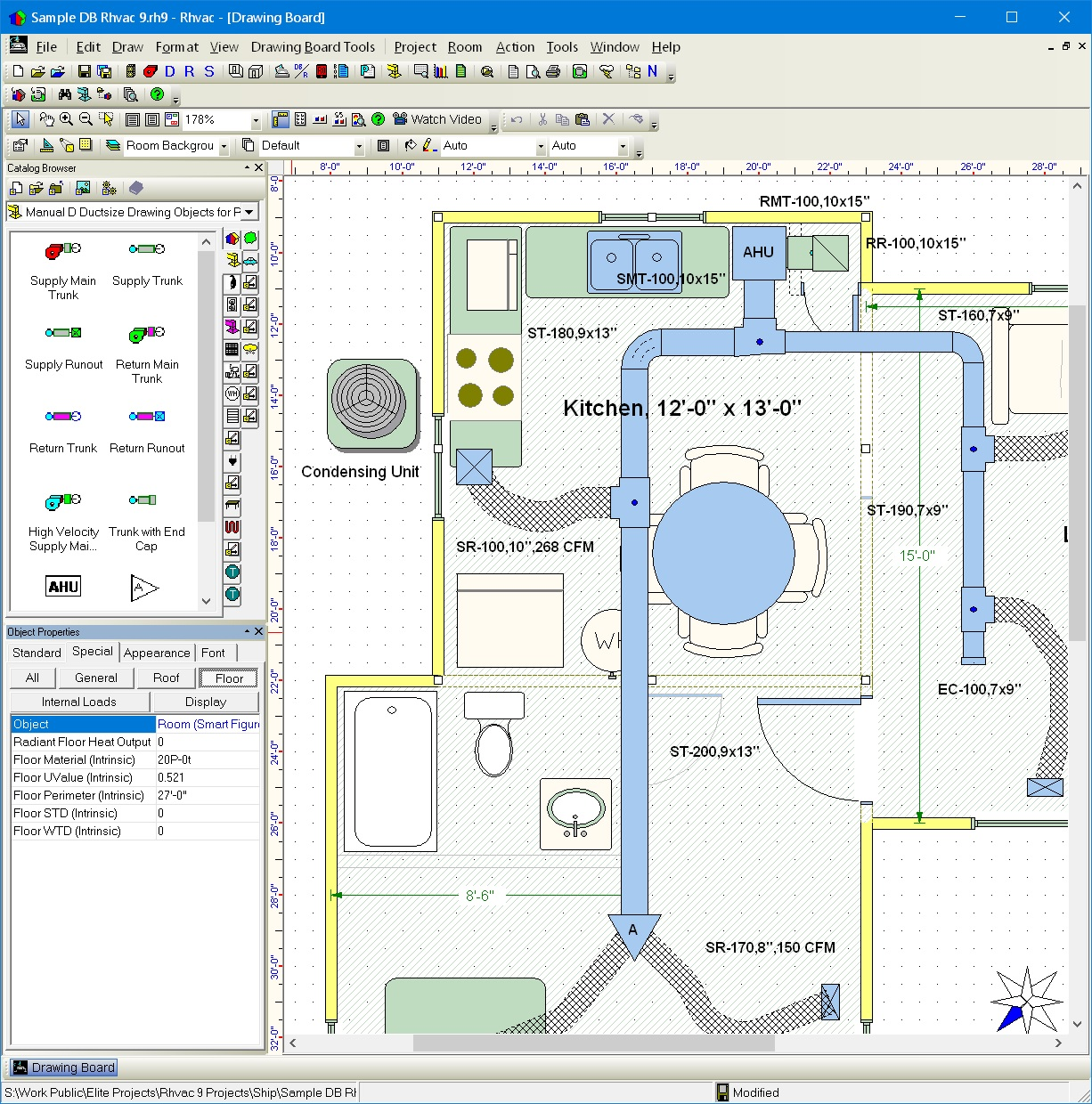 hight resolution of elite software rhvac hvac drawing program