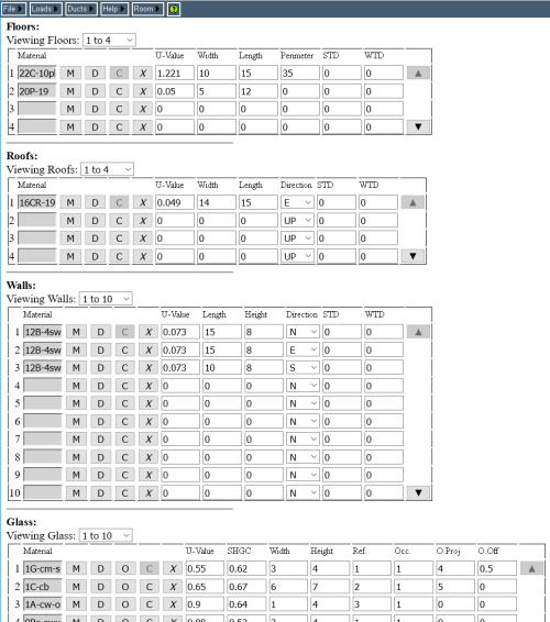 small resolution of room data page on a pc rhvac online