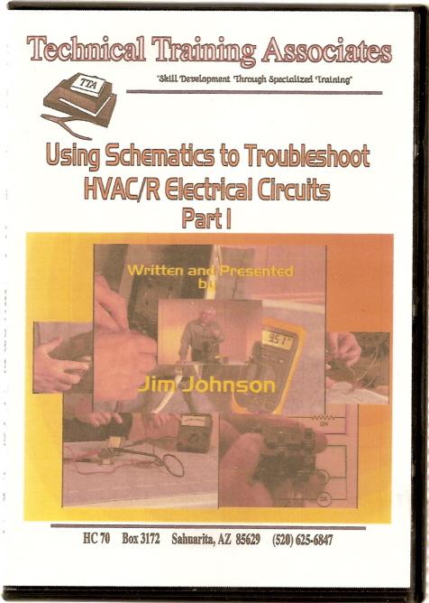 Heat Pump Electrical Diagram Dvd Video Using Schematics To Troubleshoot Hvac R