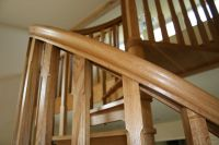 Timber-tread-Warwickshire - Elite Spiral Staircases