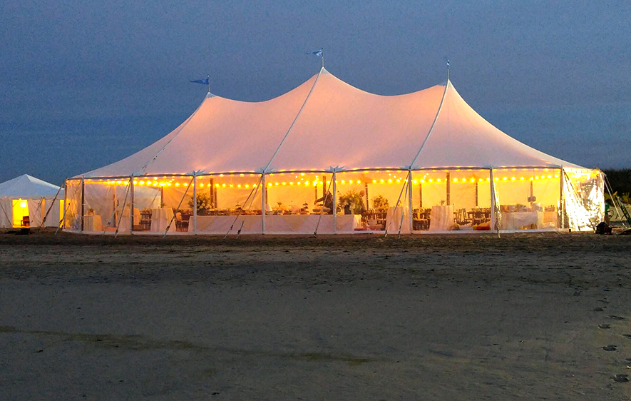 sailcloth beach chairs papasan chair double frame sail cloth tents tent renals long island elite party rental
