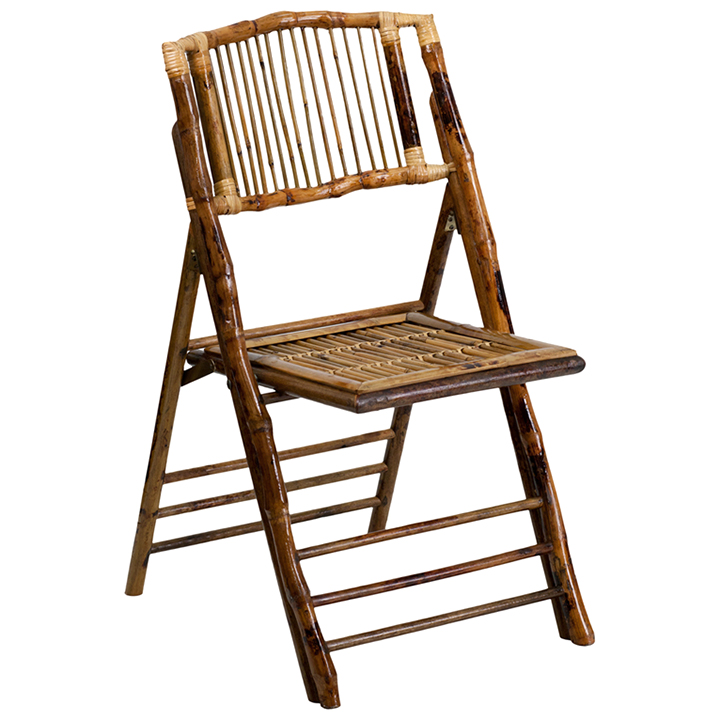 wooden folding chairs for rent replacing wicker back bamboo wood elite tent party rental chair