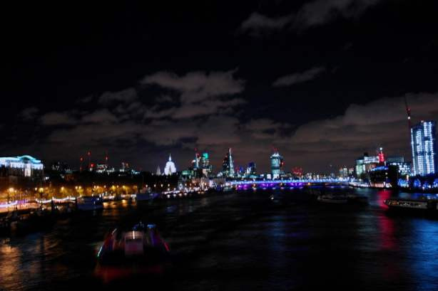 London from Waterloo Bridge - edited