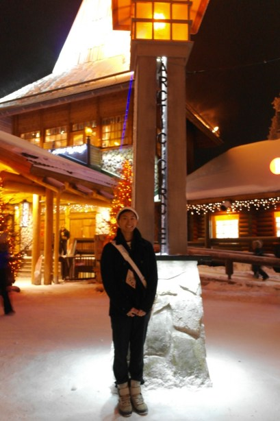 Me in the Arctic Circle!