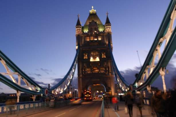 On Tower Bridge