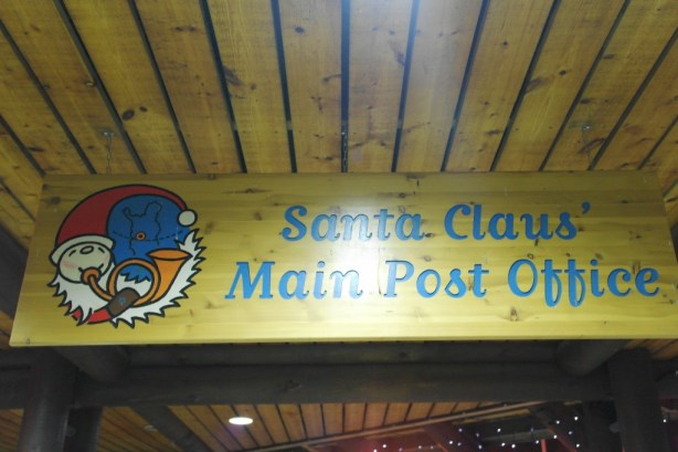 Santa Claus' post Office in Lapland