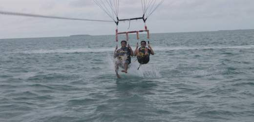 Key West water adventure- a blue ocean paradise