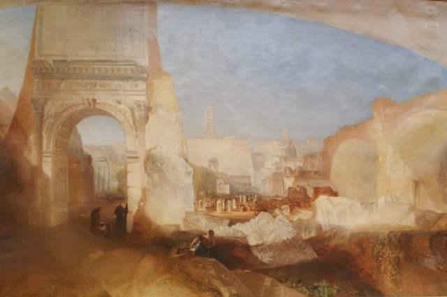 Forum Romanum - J.W Turner