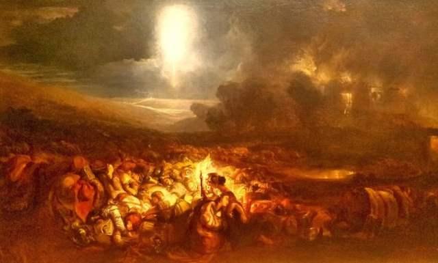 The Field of Waterloo (1818) - J.W Turner