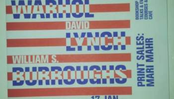 Warhol,Lynch,Burroughs review, The Photographers Gallery London