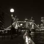 Tower Bridge – black and white