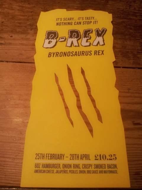 B-Rex Burger - Byron Hamburger