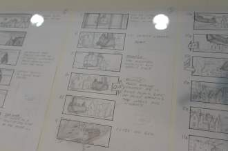Bond in Motion storyboard