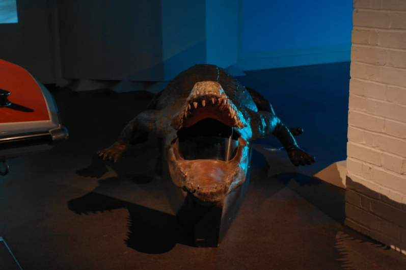Crocodile Submarine – Octopussy