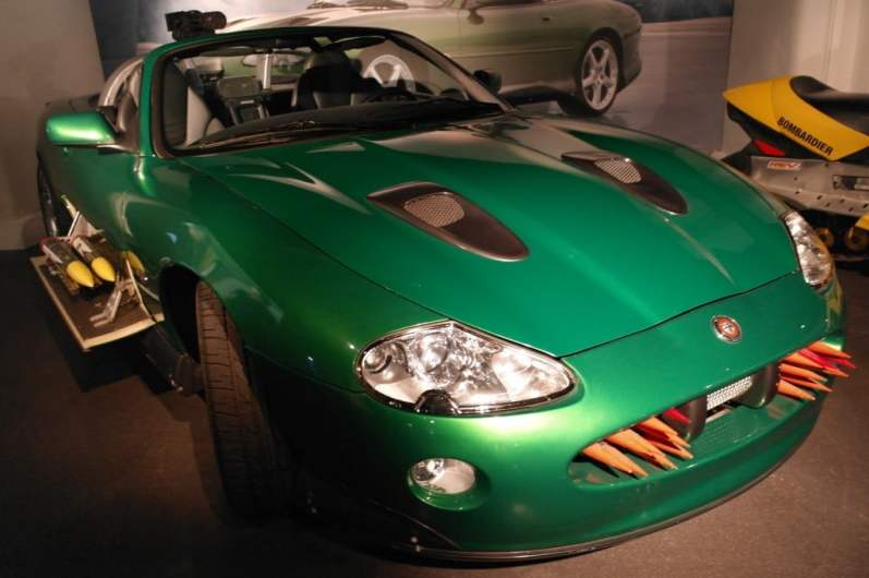 Jaguar XKR Die Another Day