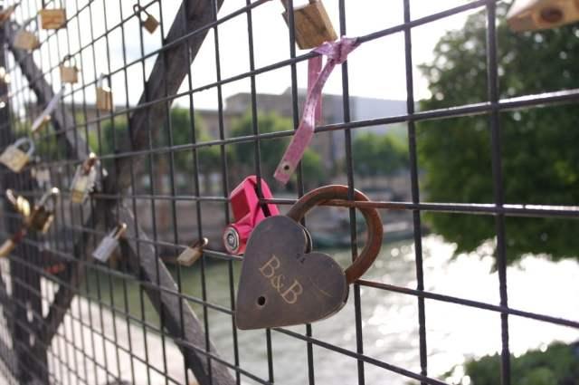 Love lock - Pont Neuf