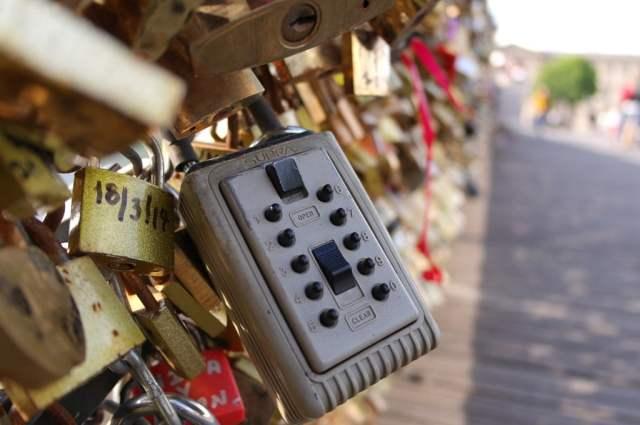 Love locks - Pont des Arts