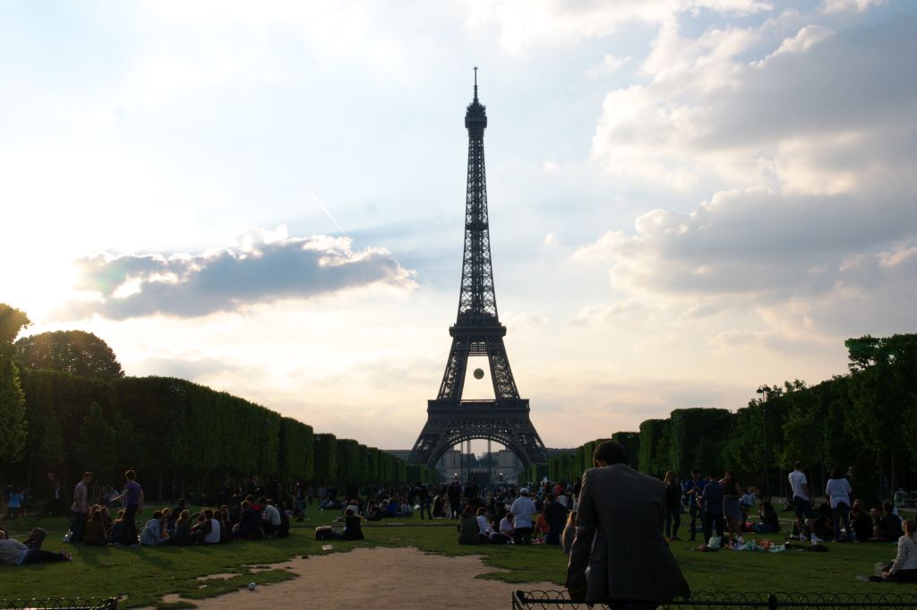Eiffel Tower, Champs-Elysees