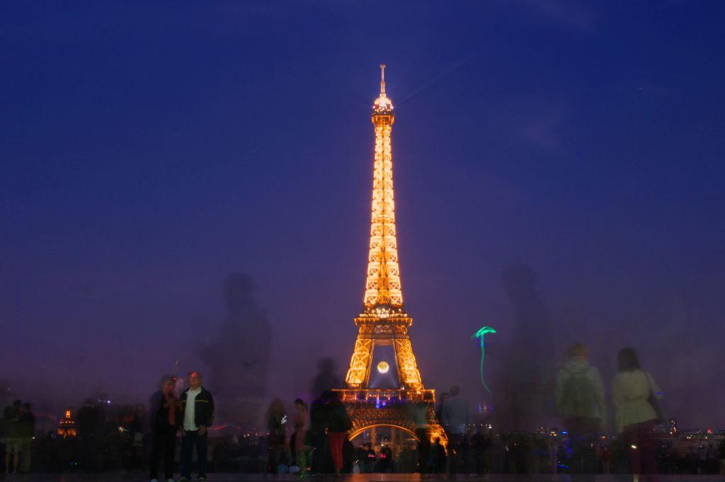 Trocadero Gardens - Eiffel Tower
