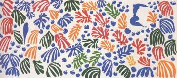 The Parakeet and the Mermaid – Henri Matisse, The Cut-Outs, Tate Modern