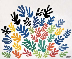 The Sheaf - Henri Matisse, The Cut-Outs, Tate Modern