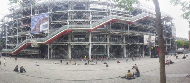 Free wi-fi Centre Georges Pompidou