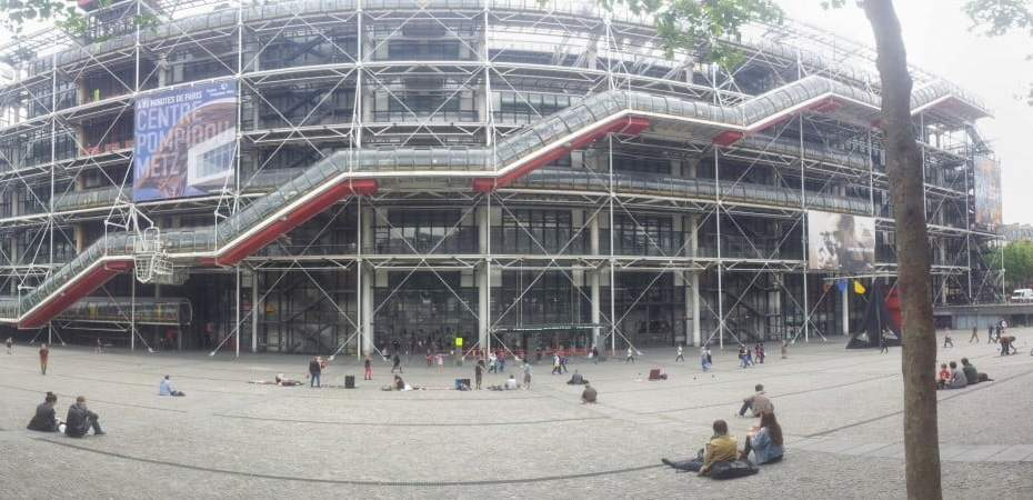 Free wi-fi Centre Georges Pompidou (2)