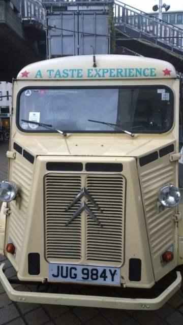 Ate Street Food van