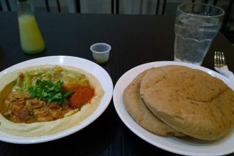 Hummus Bros Review | Healthy Eating in London