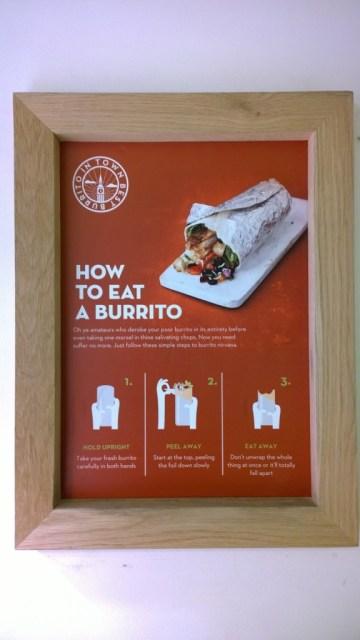 How to eat a burrito neatly - Poncho 8