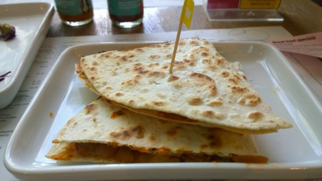 Chicken chipotle quesadillas