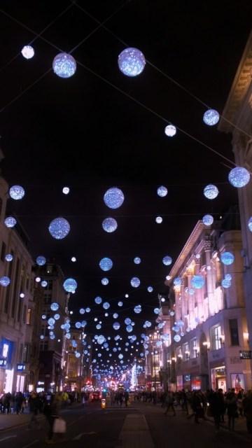 oxford street christmas decorations 2014